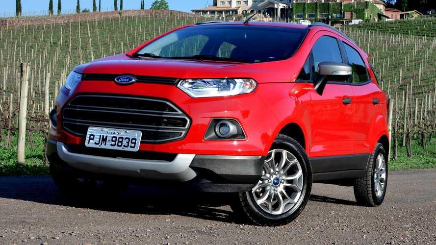 Ford começa a liquidar EcoSport com taxa zero para toda gama