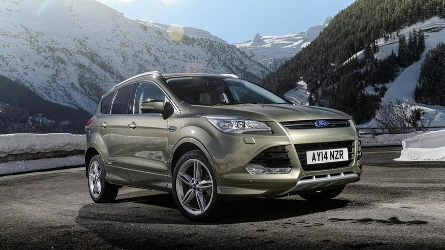 Ford details range-topping Kuga Titanium X Sport version (UK)