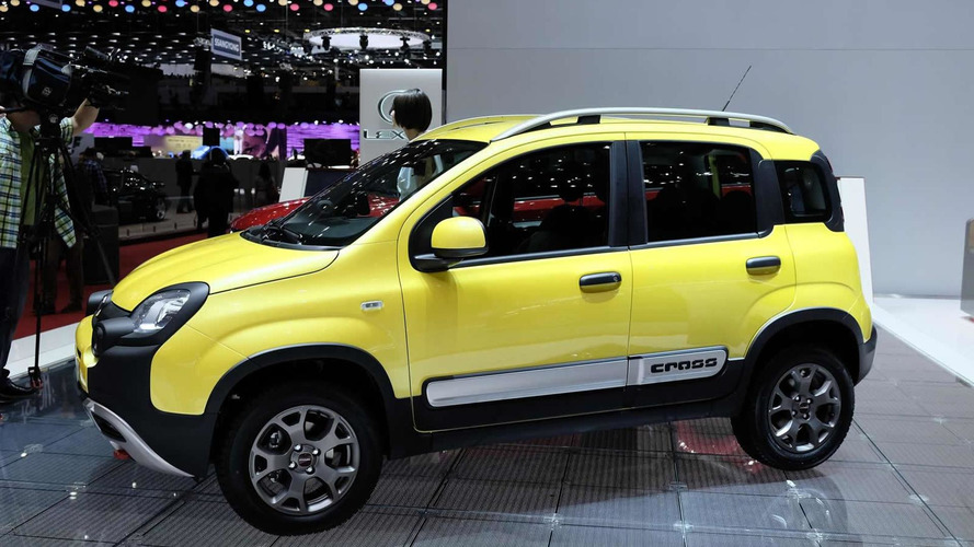 Fiat introduces Panda Cross in Geneva with all-wheel drive system