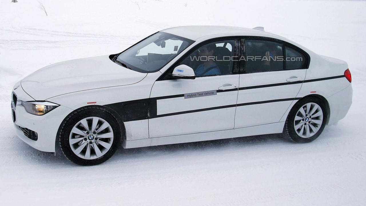 Bmw 3 Series Plug In Hybrid Spy Photo
