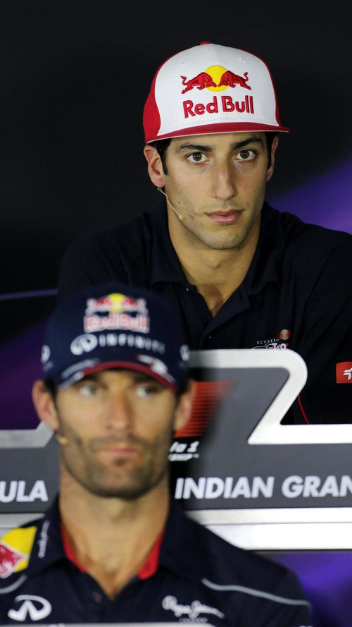 Ricciardo better than Webber 'not fair' - Vettel