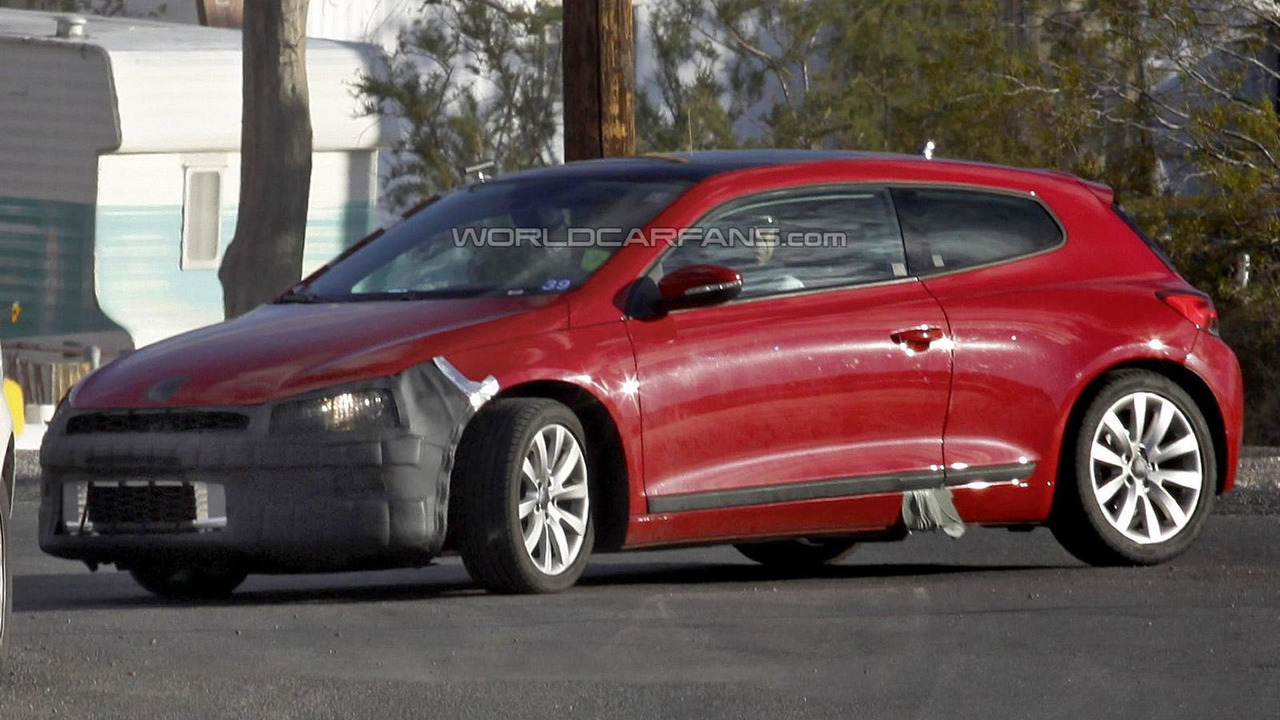 Vw Scirocco Usa >> 2014 Volkswagen Scirocco Facelift Spy Photo Motor1 Com Photos