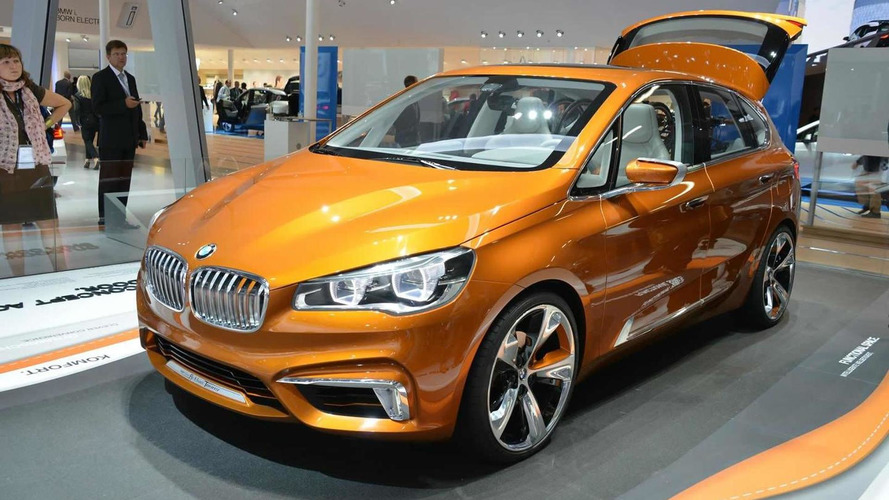 2013 BMW Concept Active Tourer Outdoor shown at IAA