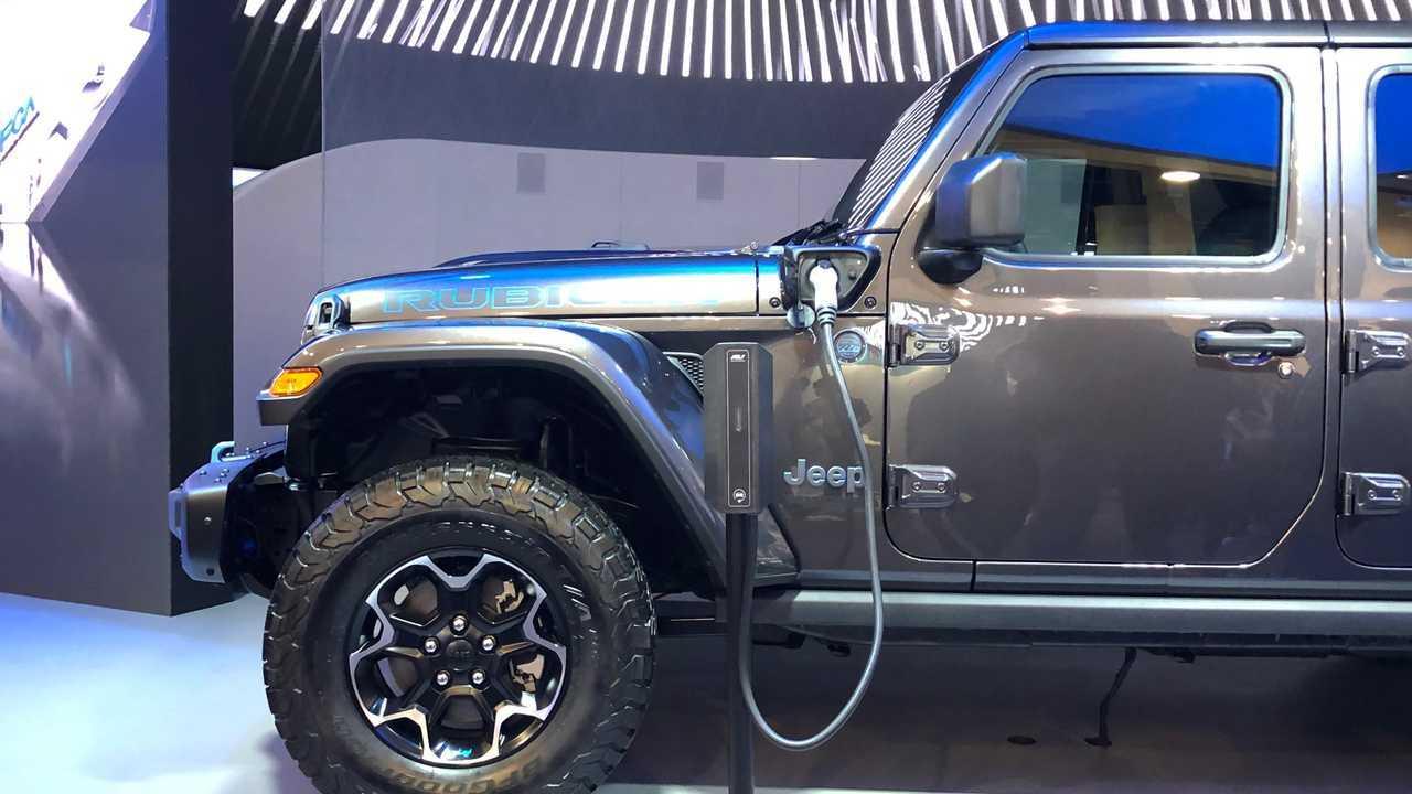 Jeep Wrangler, Compass ve Renegade PHEV CES 2020'de