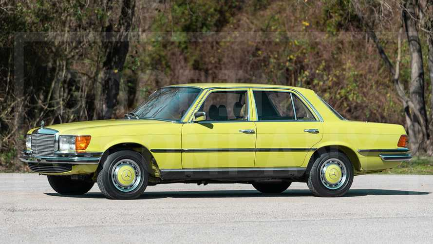 $78K Took This Rare-Color, All-Original 1978 Mercedes-Benz 280 SE