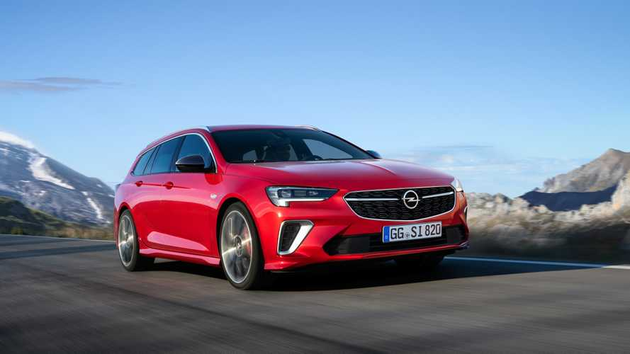 Opel Insignia Sports Tourer GSI restyling