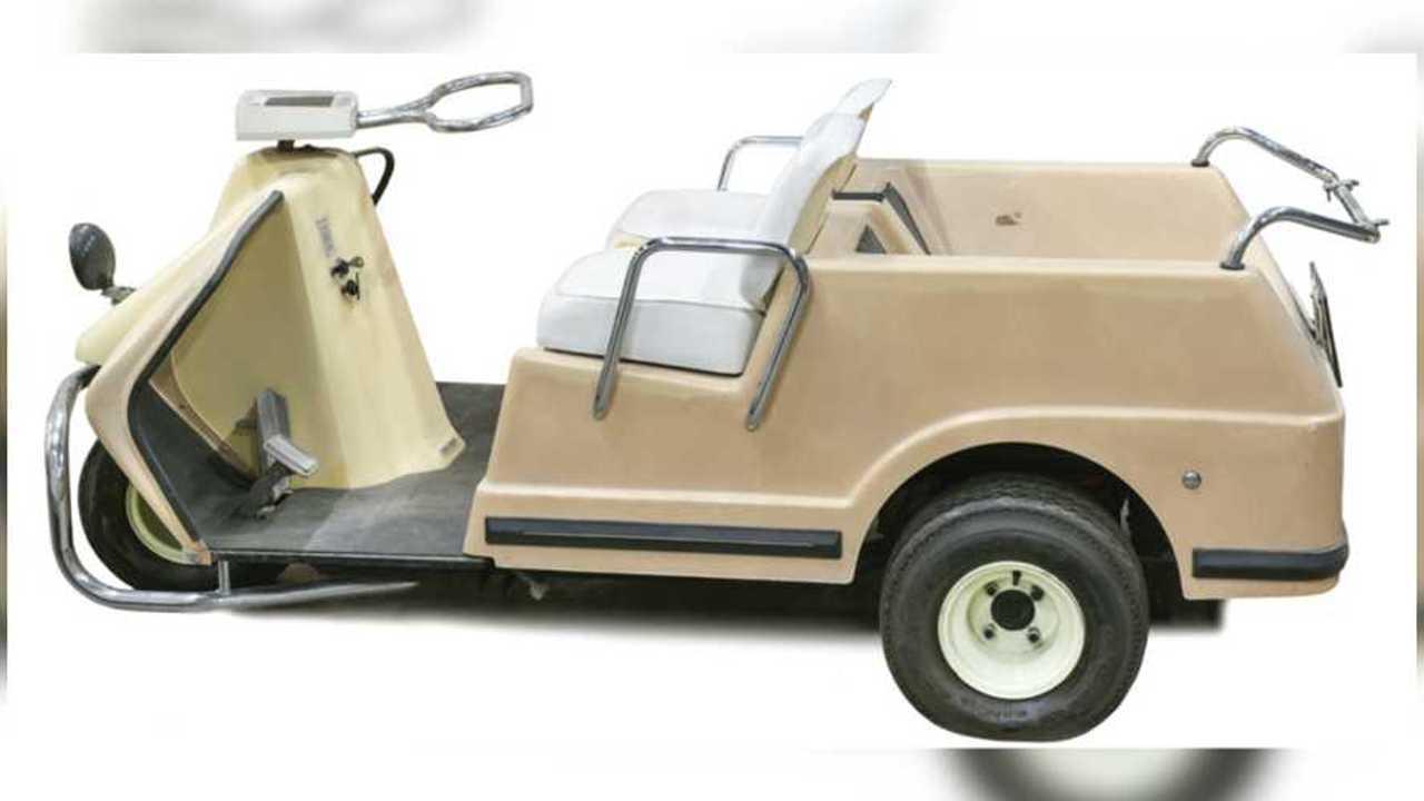 Elvis Presley's 1967 Harley-Davidson Golf Cart