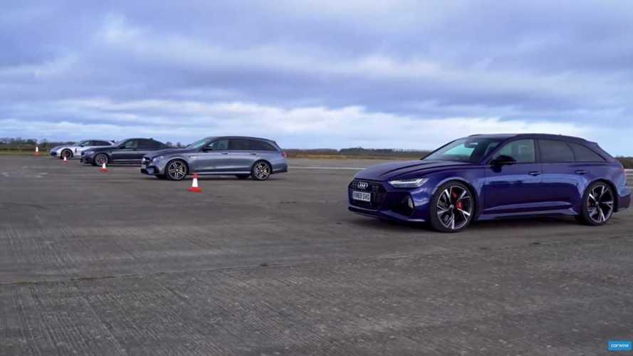 L'Audi RS 6 Avant se fait atomiser par ses concurrentes