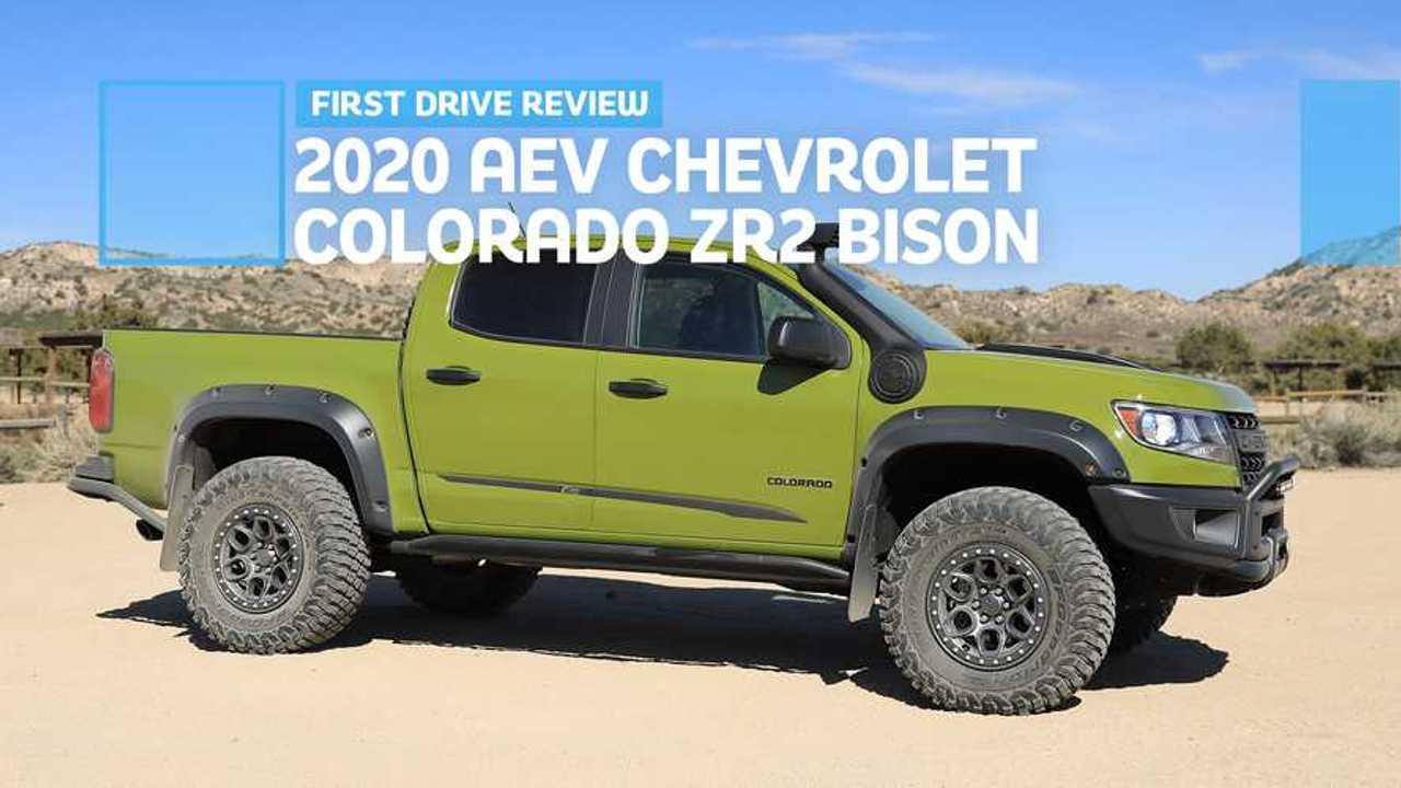 2020 AEV Chevrolet Colorado ZR2 Bison