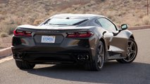 Chevrolet Corvette Stingray C8 2020, prueba