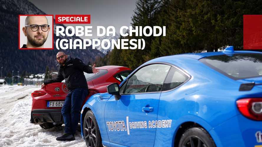 Toyota GR Supra e GT86, ecco cosa conta davvero… sul ghiaccio