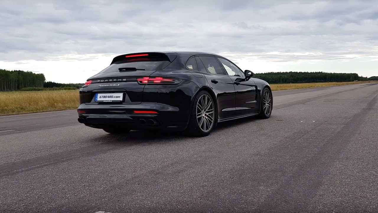 See Panamera Turbo S E-Hybrid Drag Race BMW 330e In Electric Mode