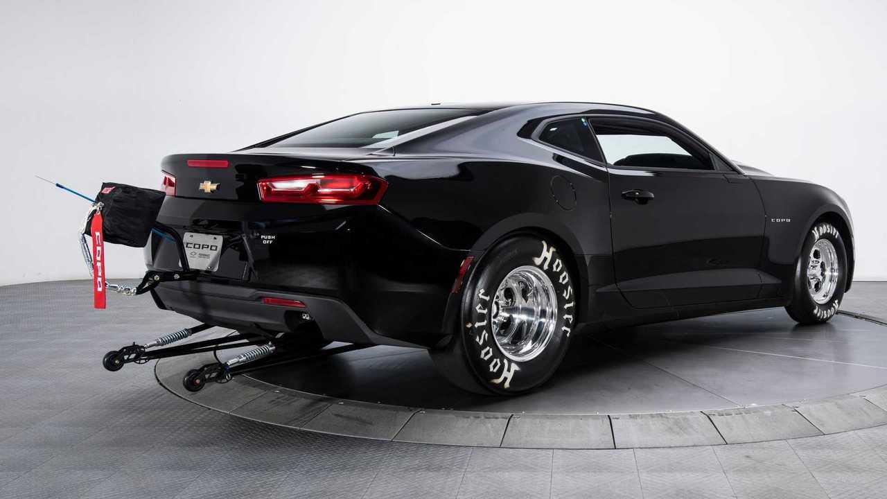 Stand Up For This Wheelie Rare 2018 Chevrolet COPO Camaro