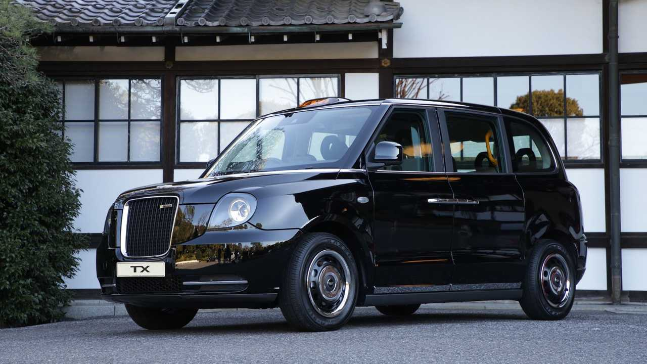 LEVC launches its electric TX model in Japan