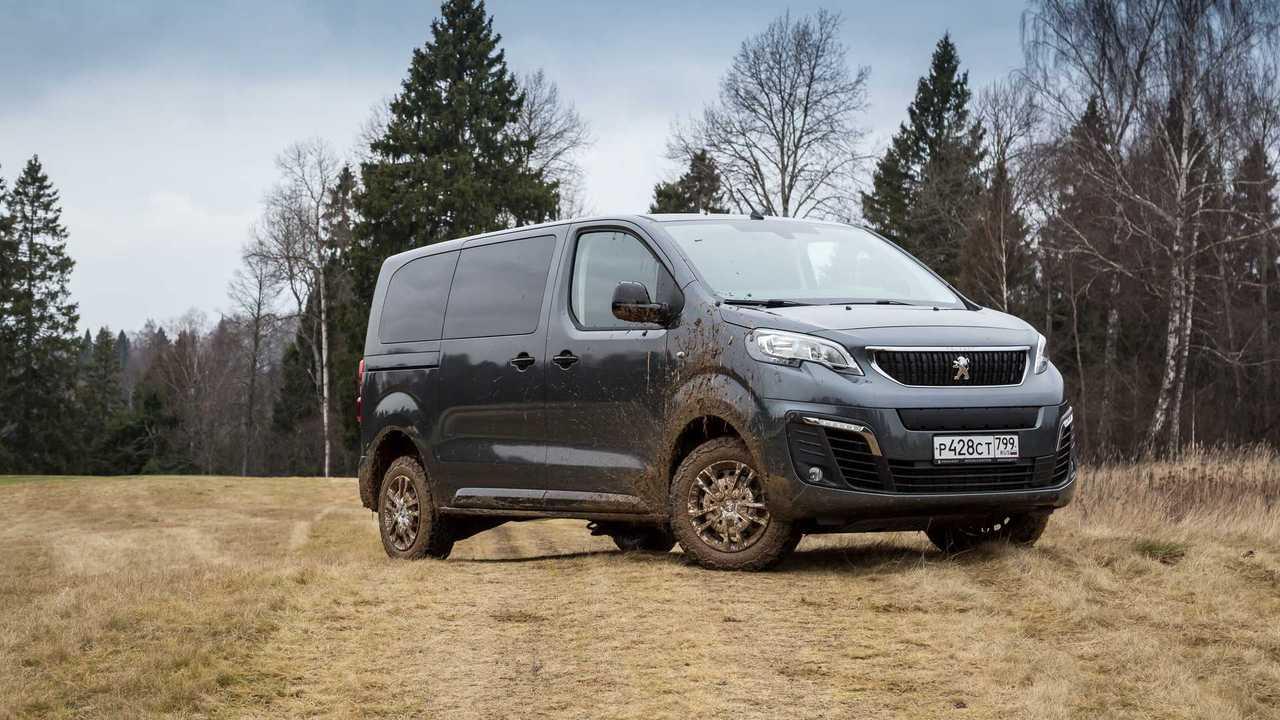 Peugeot Traveller 4x4 Dangel тест в Подмосковье
