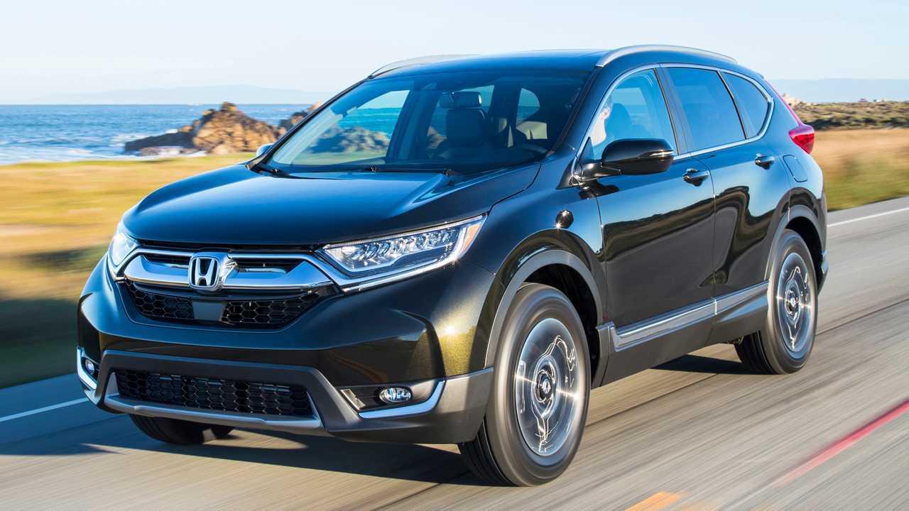 4. Honda CR-V: 3 States