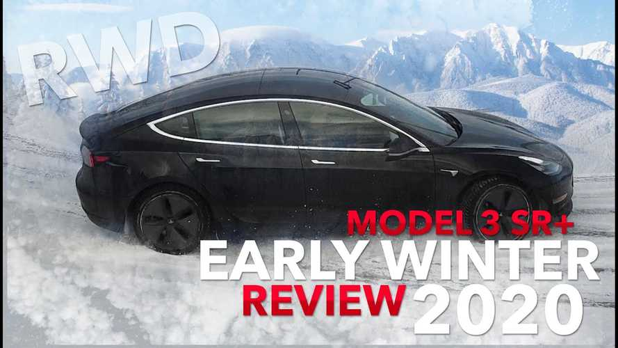 Rear-Wheel-Drive Tesla Model 3 Tested In Ice And Snow