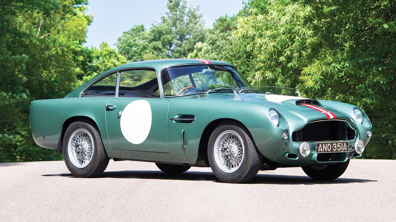 Aston Martin DB4GT Prototype (1959) - 6,1 milioni di euro