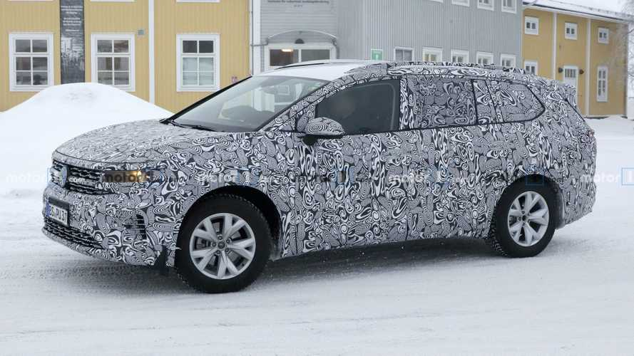 201-Inch-Long VW SMV Spied As Largest Vehicle On MQB Platform