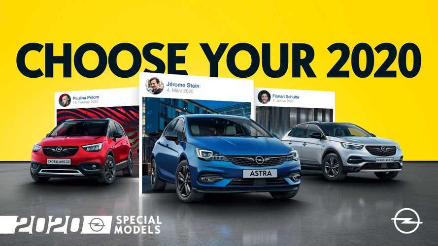 'Opel 2020', nuevas versiones de los Astra, Crossland X y Grandland X