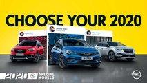 Opel 2020: Neue Sondermodelle für Astra, Grandland X und Crossland X