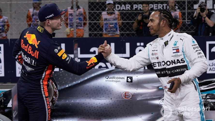 Verstappen: Hamilton 'good but not God'
