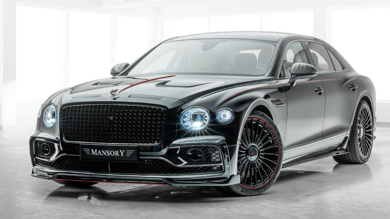 Bentley Flying Spur By Mansory Is Surprisingly Restrained