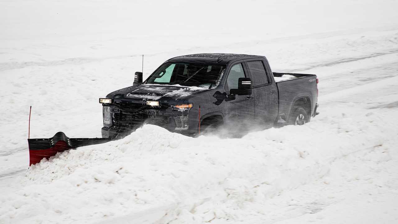 2020 Chevrolet Silverado HD Snow Plow