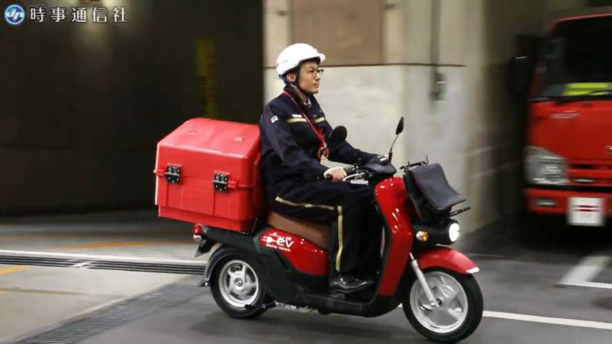 Japan Post Is About To Roll Out An Electric Delivery Fleet