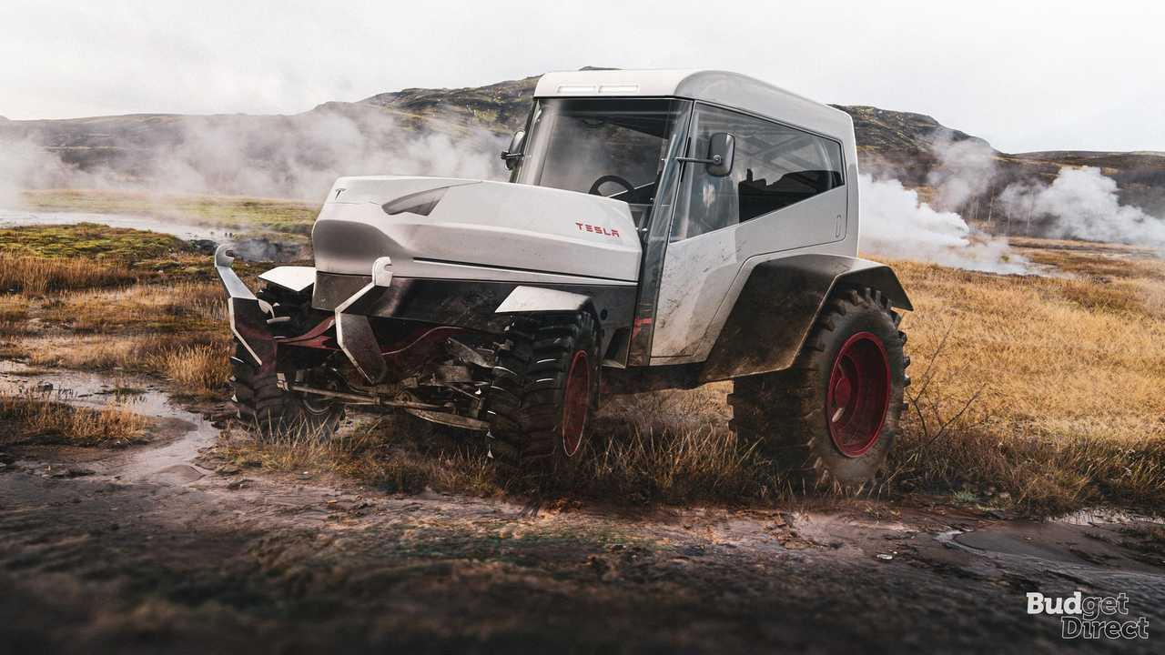 7 - Tesla Tractor