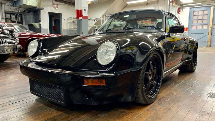 Shred Rubber In A 1986 Porsche 911 Carrera Singer Tribute