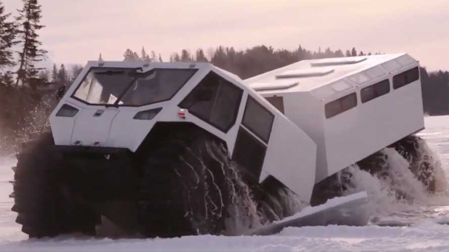 Extreme off-roader adds passenger space with The Ark in tow