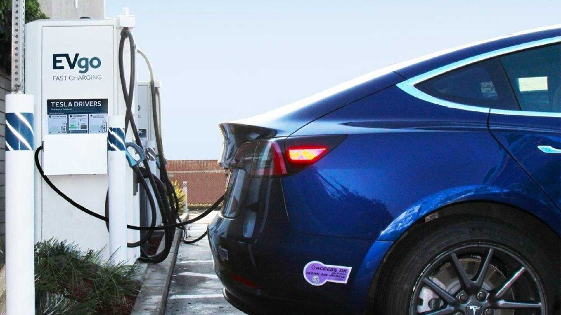 EVgo To Add Tesla Connectors At Fast Charging Stations