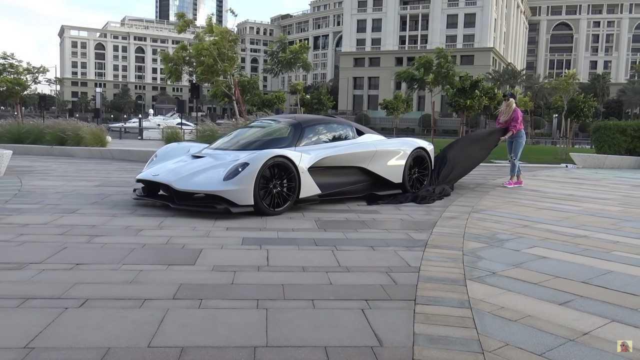 James Bond's Aston Martin Valhalla