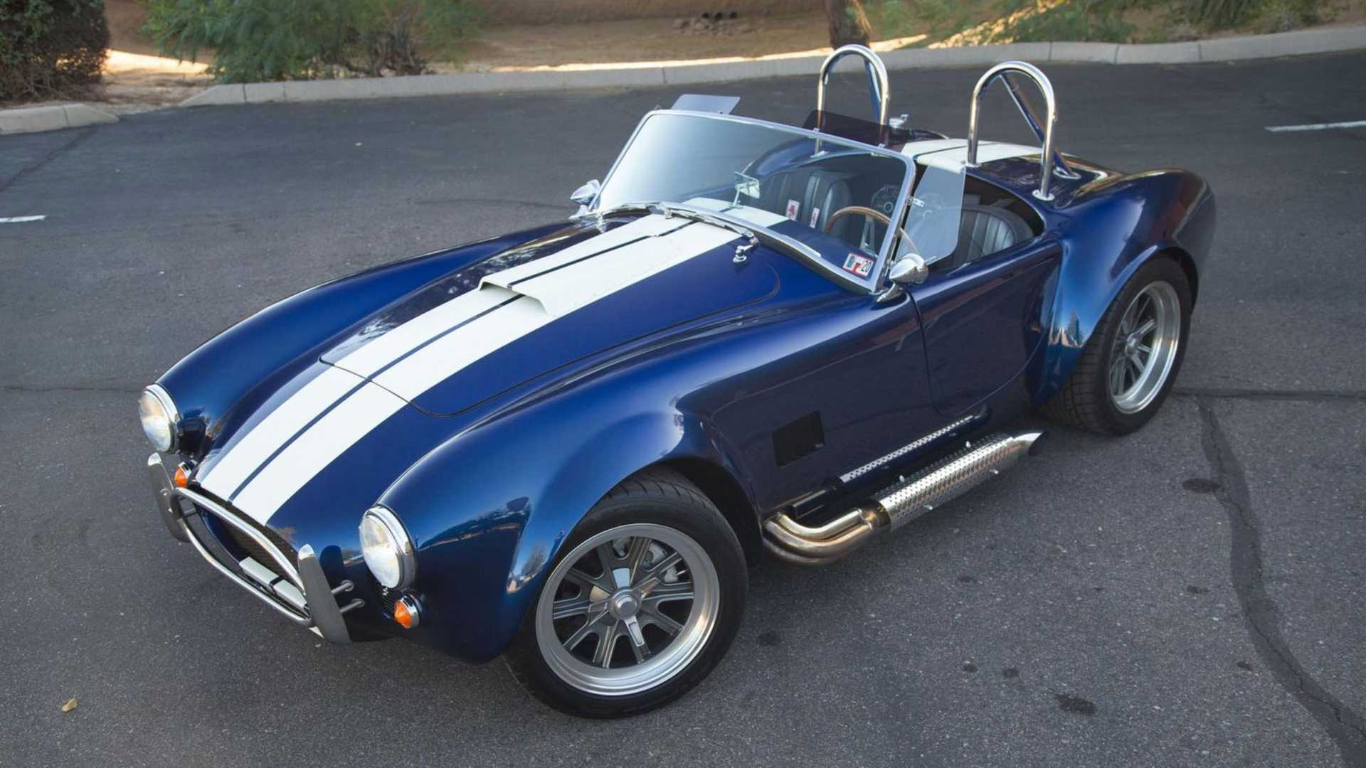 """[""""Own The Road In This 1965 Factory Five Cobra""""]"""