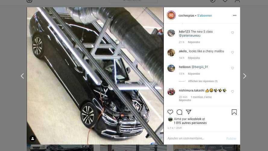 La nouvelle Mercedes-Benz Classe S prend la fuite