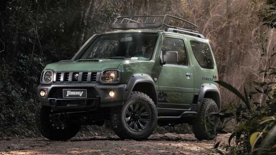 Suzuki Jimny ganha série especial Forest por R$ 94.990