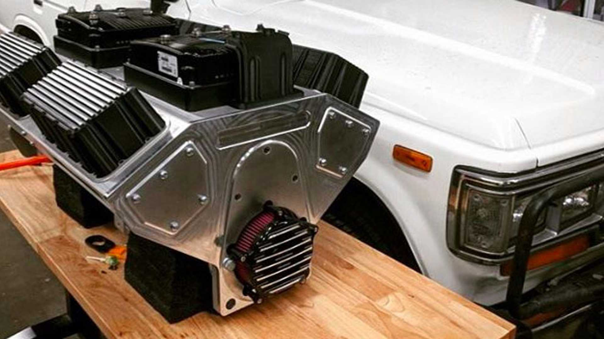 """[""""Electric GT Offers EV Crate Motor For Classics""""]"""