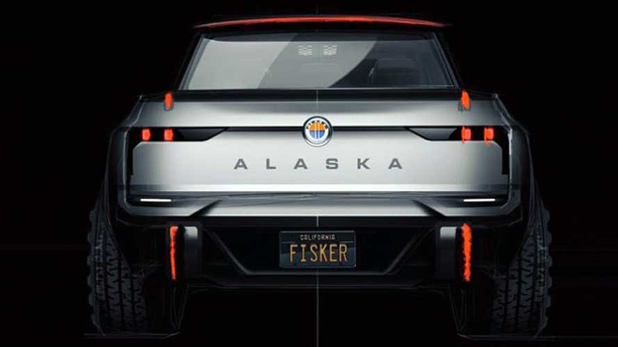 Fisker Accidentally Reveals Alaska Electric Pickup Truck