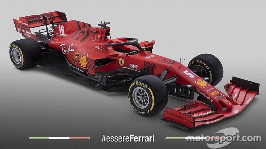 Ferrari, 2020 F1 aracı SF1000'i tanıttı!