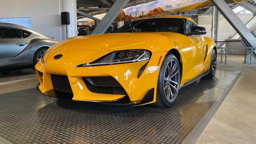 2020 Toyota Supra 2.0, dört silindirli motoruyla ABD'de