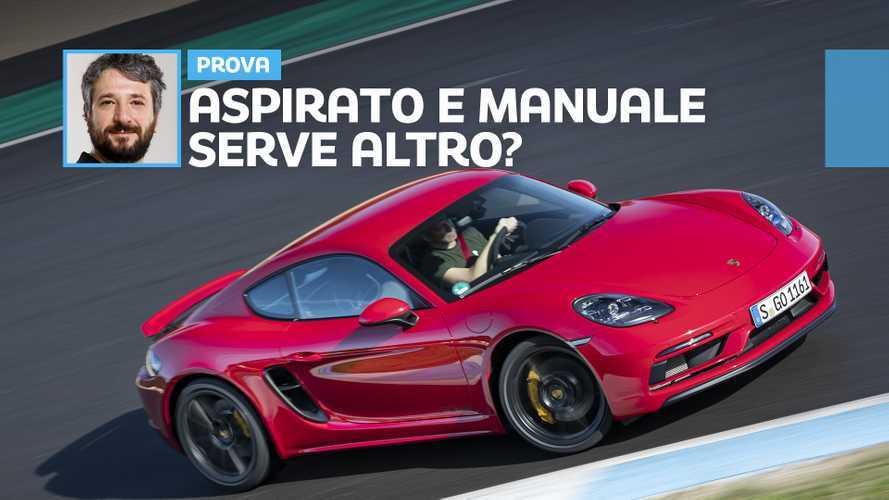Porsche Cayman GTS 4.0, la prova della macchina dei sogni