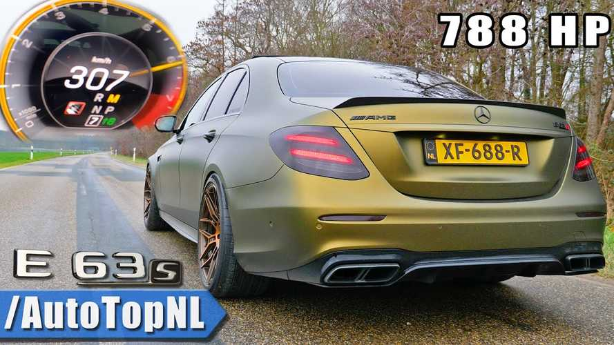 Mercedes-AMG E63 S with 788 bhp accelerates like a supercar