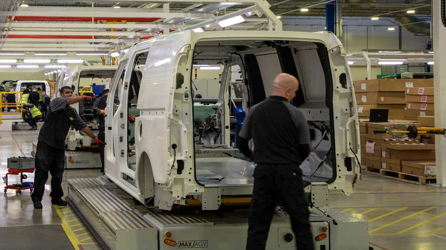 Just over 800 commercial vehicles were built in the UK during May