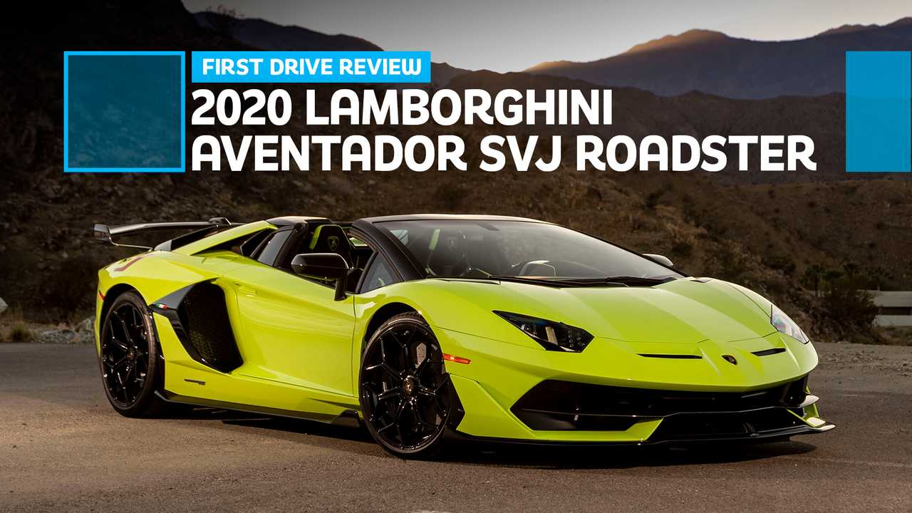 2020 Lamborghini Aventador Svj Roadster First Drive Review Roofless Record Breaker