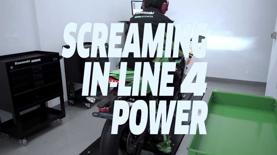 Watch The Little Kawasaki ZX-25R Hit The Dyno