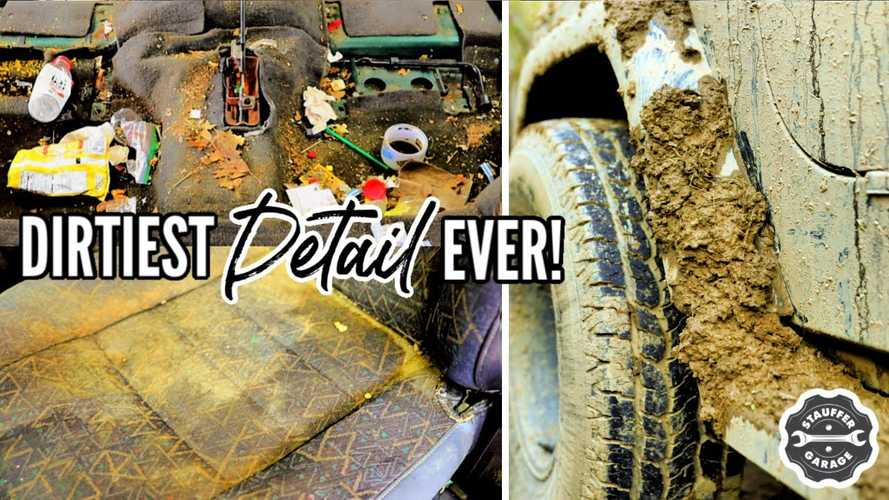 Muddy Jeep Wrangler Gets Second Chance After Deep Cleaning