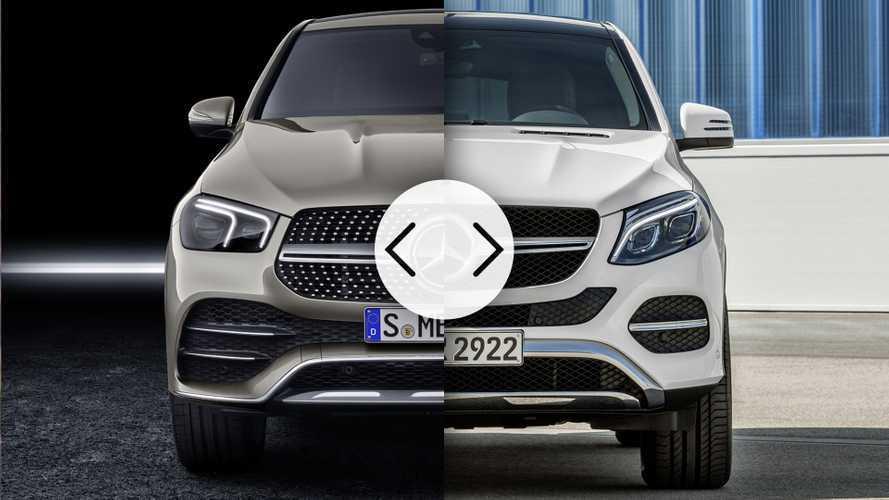 Mercedes GLE Coupé, nuova e vecchia a confronto