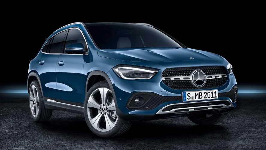 New Mercedes-Benz GLA goes on sale in the UK