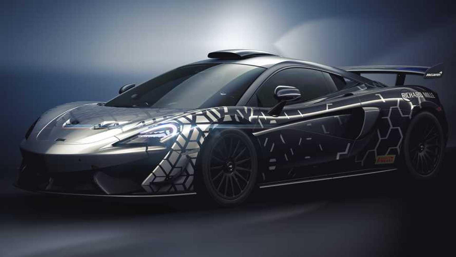McLaren 620R revealed as road-legal GT4 race car